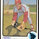 PHILADELPHIA PHILLIES TERRY HARMON 1973 TOPPS # 166 NR MT OC