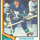VANCOUVER CANUCKS ANDRE BOUDRIAS 74/75 TOPPS # 191 VG