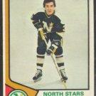 MINNESOTA NORTH STARS FRED BARRETT 74/75 TOPPS # 234 EX