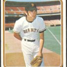 SAN FRANCISCO GIANTS RANDY MOFFITT 1974 TOPPS # 156 EX