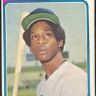 CHICAGO CUBS VIC HARRIS 1974 TOPPS # 157 EX OC