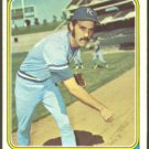 KANSAS CITY ROYALS DOUG BIRD 1974 TOPPS # 17 VG