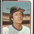 BOSTON RED SOX RICK WISE 1974 TOPPS # 84 EX/EX MT