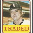 BOSTON RED SOX REGGIE CLEVELAND 1974 TOPPS # 175T EX