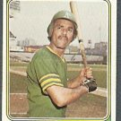 OAKLAND ATHLETICS VIC DAVALILLO 1974 TOPPS # 444 G