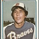 ATLANTA BRAVES MARTY PEREZ 1974 TOPPS # 374 VG/EX