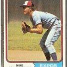 MONTREAL EXPOS MIKE JORGENSEN 1974 TOPPS # 549 EX OC