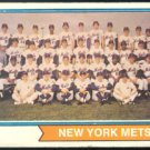 NEW YORK METS TEAM CARD 1974 TOPPS # 56 G+/VG