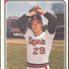 CALIFORNIA ANGELS DAVE SELLS 1974 TOPPS # 37 EX