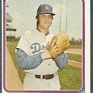 LOS ANGELES DODGERS PETE RICHERT 1974 TOPPS # 348 EX