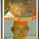 BOSTON RED SOX CARL YAZ CINCINNATI REDS JOHNNY BENCH 1984 DONRUSS # 8