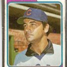 CHICAGO CUBS JACK AKER 1974 TOPPS # 562 G