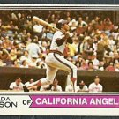 CALIFORNIA ANGELS VADA PINSON 1974 TOPPS # 490 G