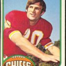 KANSAS CITY CHIEFS MIKE SENSIBAUGH 1976 TOPPS # 86 VG
