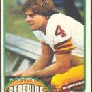 WASHINGTON REDSKINS MIKE BRAGG 1976 TOPPS # 91 EX