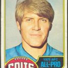 BALTIMORE COLTS GEORGE KUNZ 1976 TOPPS # 410 VG