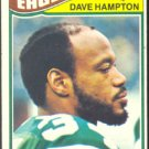 PHILADELPHIA EAGLES DAVE HAMPTON 1977 TOPPS # 126 VG