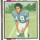 LOS ANGELES RAMS JIM NETTLES 1973 TOPPS # 116 VG