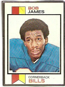 BUFFALO BILLS BOB JAMES 1973 TOPPS # 120 VG