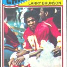 KANSAS CITY CHIEFS LARRY BRUNSON 1977 TOPPS # 244 EX
