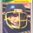 SAN DIEGO CHARGERS RALPH PERRETTA 1977 TOPPS # 308 VG