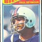 BUFFALO BILLS PAUL SEYMOUR 1977 TOPPS # 317 VG