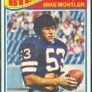 BUFFALO BILLS MIKE MONTLER 1977 TOPPS # 416 VG