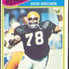 CINCINNATI BENGALS BOB BROWN 1977 TOPPS # 491 VG/EX