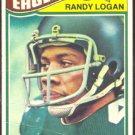 PHILADELPHIA EAGLES RANDY LOGAN 1977 TOPPS # 498 G