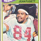 WASHINGTON REDSKINS JEAN FUGETT 1977 TOPPS # 12 VG
