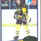 PITTSBURGH PENGUINS MARK JOHNSON ROOKIE CARD 80/81 TOPPS #69