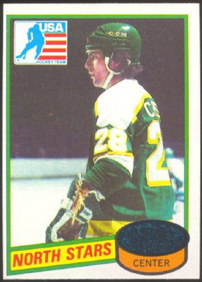 NORTH STARS STEVE CHRISTOFF ROOKIE CARD 80/81 TOPPS # 103 NM
