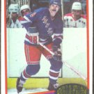 NEW YORK RANGERS STEVE VICKERS 80/81 TOPPS # 23 NR MT