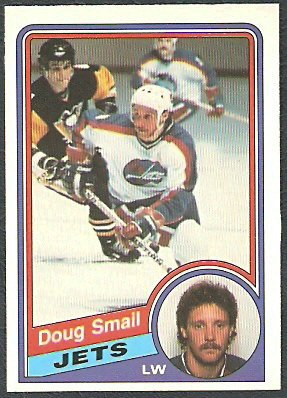 WINNIPEG JETS DOUG SMAIL 84/85 OPC # 346 NR MT