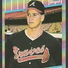 ATLANTA BRAVES TOM GLAVINE 1989 FLEER # 591