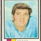 HOUSTON OILERS DAVE PARKS 1973 TOPPS # 179 VG