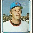 NEW YORK METS BOB MILLER 1974 TOPPS # 624 ex