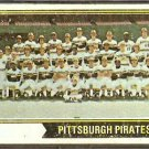 PITTSBURGH PIRATES TEAM CARD 1974 TOPPS # 626 G