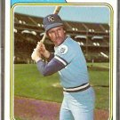 KANSAS CITY ROYALS CARL TAYLOR 1974 TOPPS # 627 VG
