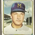 MILWAUKEE BREWERS STEVE BARBER 1974 TOPPS # 631 P/F
