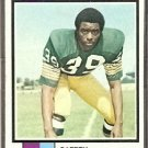 GREEN BAY PACKERS JIM HILL 1973 TOPPS # 263 VG+