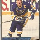 ST LOUIS BLUES BRETT HULL 93/94 FLEER ULTRA # 117