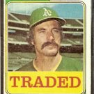 OAKLAND ATHLETICS BOB LOCKER 1974 TOPPS TRADED # F/G