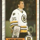 BOSTON BRUINS ANDY MOOG 1989 OPC O PEE CHEE # 160