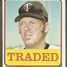 MINNESOTA TWINS RANDY HUNDLEY 1974 TOPPS # 315T VG