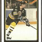 BOSTON BRUINS RAY BOURQUE 90/91 TOPPS # 43