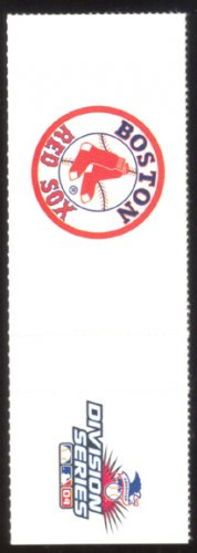 BOSTON RED SOX 2004 ALDS FILLER TICKET