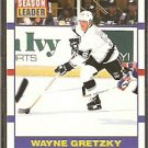 LOS ANGELES KINGS WAYNE GRETZKY SCORING LDR 90/91 SCORE # 353