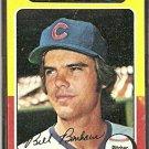CHICAGO CUBS BILL BONHAM 1975 TOPPS # 85 VG