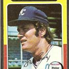 KANSAS CITY ROYALS STEVE BUSBY 1975 TOPPS # 120 G